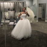 Davids Bridal Princess Dress